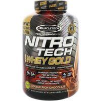 Muscletech Nitro Tech 100% Whey Gold Double Rich Chocolate 5.53 lbs / 2.51 kg