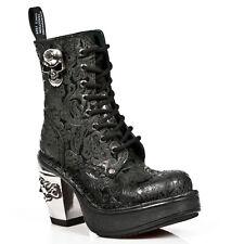 New Rock Schuhe Damen- Stiefelette Stiefel Absatz Boots Gothic Vintage M.8358-S1