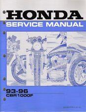 1993 - 1996 Honda CBR1000F Factory Service Manual 61MZ203