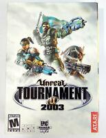 Unreal Tournament 2003 Epic Games Atari Windows PC Boxed Version Factory Sealed