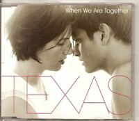 TEXAS When We Are Together UK PROMO CD single