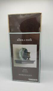 NEW allen + roth 18-in W x 2.75-in H x 7.6-in D Wood Wall Mounted Shelving Cocoa