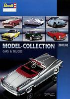 Revell Modellauto metal model cars trucks  Katalog D GB F NL 2001 2002 Prospekt