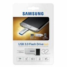 Samsung USB 3.0 Flash Drive Duo 32gb OTG Micro 5pin Memory Stick