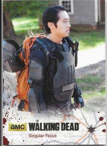 Cryptozoic Walking Dead Season 4 Part 2 Gold Foil Singular Focus Glenn /25 56