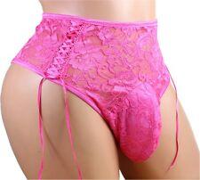 "Sissy Pouch Panties  underwear lace bikini size44""-48""sexy gay men jijo9"