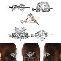5 Stück Celtic Knot Haarspange Viking Hair Stick Slide Haarnadeln Vintage für