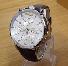 Reloj Cronógrafo para Hombre Raro Diseño Retro planteado asimétrica Bullhead Estilo