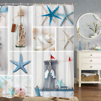 House Decor Bath Curtain Art Printed Waterproof Fabric Bathroom Shower Curtain