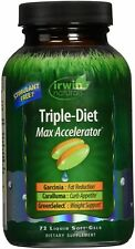 Irwin Naturals Triple-Diet Max Accelerator Soft Gel 72 ea