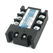 ZYG-3D4810 Screw Terminals 3 Phases Solid State Relay DC 3-32V to AC 480V 10A