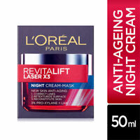L'Oreal Paris Revitalift Laser X3 Night Cream Mask 50ml Visibly Reduces Wrinkles
