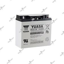 Batterie caddie de golf cyclique  rechargeable YUASA REC22-12 12V 22AH