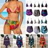 Ladies Women 2PCS Push-Up Padded Bra Bikini Set Swimsuit Bathing Suit Swimwear P