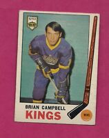 1969-70 OPC # 106 KINGS BRIAN CAMPBELL  ROOKIE  EX CARD (INV#1676)