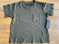 Citizens of Humanity Grace Pocket Tee, NWT, Dark Olive, Multiple Sizes