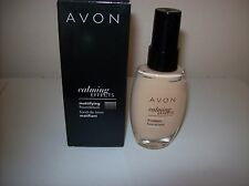 AVON CALMING EFFECTS MATTIFYING FOUNDATION 30ML NUDE