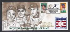 1997 BASEBALL HALL OF FAME INDUCTION DAY STAMPED CANCELED CACHET LASORDA NIEKRO