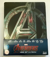 Zavvi | Avengers: Age Of Ultron | Blu-Ray Steelbook OOS/OOP New | MARVEL Downey