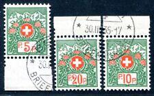 Suiza porto libertad 1927 11-13iix con sello perfectamente 450 € (s1915