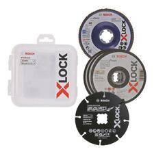 Bosch X-LOCK Carbide Multi Wheel, Trenn- & Fächerscheiben Set 125mm
