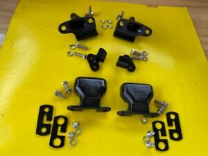 """CHEVY 1955 56 57 1958 58 GMC Cameo tail gate HARDWARE """"KIT""""10 pieces plus BOLTS"""