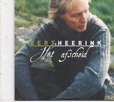 Bert Heerink-Het Afscheid cd single
