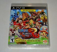 One Piece: Unlimited World Red  DAY ONE EDITION , PS3, BRAND NEW, SEALED