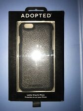 ADOPTED Leather Wrap Case iPhone 6 Black/Black iPhone 6