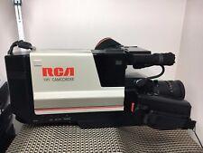 VTG 1988 RCA SOLID STATE IMAGE SENSOR Camcorder CC300  COMPLETE Locking Case