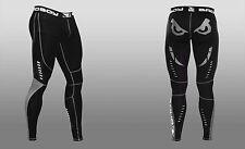 Bad Boy Men's Sphere Compression Leggings Spats MMA X-Large Black