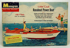 1956 Monogram Water Devil Runabout Power Boat Plastic Model Kit