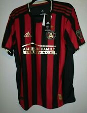 NWT Adidas  MLS Atlanta United FC Home Soccer Jersey AU DP4873 Black/Victory Red