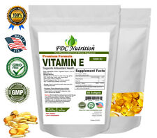 FDC Nutrition Vitamin E-1000 IU - 60 Softgels- 500mg