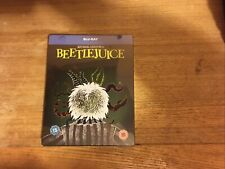 Beetlejuice Blu-ray Steelbook Halloween,Strong Comic Horror New ,sealed