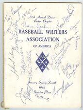 Tony Conigliaro Boston Red Sox Signed Program 1966 + 16