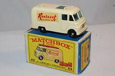 MATCHBOX #62B COMMER TV SERVICE VAN, RENTASET, OUTSTANDING, BOXED TYPE E