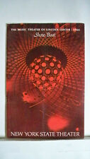 SHOW BOAT Playbill BARBARA COOK / DAVID WAYNE / JEROME KERN Revival NYC 1966