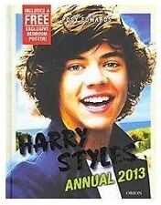 Harry Styles Annual 2013  (Hardcover) with Poster One Direction