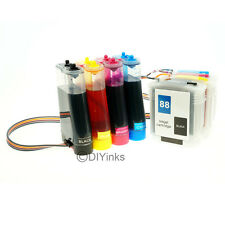 Continuous Ink System for HP 88 Officejet K8600 K550 K550dtn K550dtwn L7580 CISS