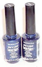 2 FANTASY MAKERS Nail Color METALLIC BLUE #9926