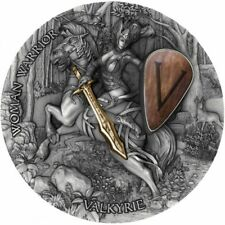 VALKYRIE WOMAN WARRIOR NIUE 2020 2 OZ SILVER COIN Available