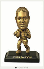 *2009 Select NRL LIMITED EDITION GOLD FIGURINE NO.39 Chris Sandow (Rabbitohs)
