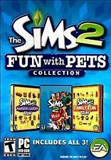 The Sims 2 Fun With Pets Collection PC Family Fun Mansion & Garden