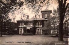"Princeton University ""PROSPECT"" Vintage Postcard W C Sinclair"