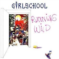 Running Wild by Girlschool (CD, Nov-2014, Hear No Evil (Cherry Red Label))