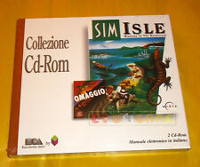 SIM ISLE MISSION IN THE RAIN FOREST Pc Vers Italiana Collezione CTO NUOVO - A7
