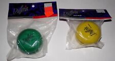 Vintage Dufferin Games Wooden YoYo Green & Yellow - Brand New HTF Rare