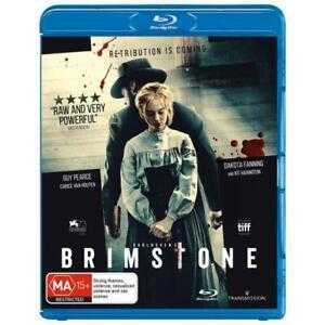 Brimstone Blu-Ray **Region B**
