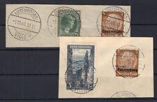 Luxembourg 1 + LUX ländermischfrankatur timbré coin de lettre de luxe (A6346